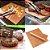 Conjunto 2 Mantas Grill em Teflon Antiaderente Para Assar Carnes Legumes na Churrasqueira Sem Gordura Reduz Fumaça - Imagem 1