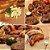 Conjunto 2 Mantas Grill em Teflon Antiaderente Para Assar Carnes Legumes na Churrasqueira Sem Gordura Reduz Fumaça - Imagem 2