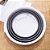 Balde Dobrável Clean 10 Litros Plástico Retrátil Cinza Desmontável Organização Ocupa Pouco Espaço - Imagem 3