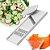 Conjunto 4 Em 1 Descascador Boleador Mandoline Cortador Legumes Cozinha Pratica Indispensável - Imagem 2