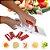 Multi Cortador 5 Em 1 Fatiador Mandolin Ralador Legumes INDISPENSÁVEL Cozinha prática - Imagem 1