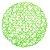 Lugar Americano Redondo 38 cm Sousplat Trançado em Papel Verde Mesa Posta Cozinha - Imagem 1