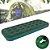 Colchão Inflável Solteiro com Inflador Embutido 191 x 75 cm em PVC Verde Dormir Camping Acampamento - Imagem 1