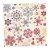 Guardanapo de Papel Decorado Estampado Natal Snow Flakes Pacote com 20 unidades Premium Luxo  - Imagem 1