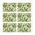 Jogo Americano Retangular 06 Lugares Abacaxi 43 x 28 cm em Polipropileno  Cozinha Mesa Posta - Imagem 1