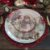 Sousplat Natal Lugar Americano Redondo 33cm Polipropileno Papai Noel BicoPapagaio Decoração Enfeite - Imagem 2