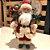 Papai Noel com Saco de Presentes Decoracao Natalina Boneco Decorativo Enfeite de Natal 30cm Clássico - Imagem 2
