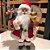 Papai Noel Decoracao Natalina Boneco 40cm Decorativo Enfeite de Natal Tradicional Clássico Presentes - Imagem 2
