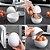 Pote Para Cozinhar Ovo à Vapor Microondas 4 Ovo Cozido Perfeito Egg Cook Cozinha Prática Funcional - Imagem 3