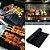 Manta Teflon Grill Tapete Antiaderente Para Assar Na Churrasqueira Forno Barbecue Mat Churrasco - Imagem 1