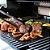 Manta Teflon Grill Tapete Antiaderente Para Assar Na Churrasqueira Forno Barbecue Mat Churrasco - Imagem 2