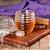 Meleira em Acrílico Transparente Colmeia com Tampa Onyx 15 cm Mesa Posta Cozinha Completa Premium - Imagem 3