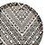 Prato Raso de Jantar em Fibra de Bambu 27cm Estampado Etnico Material Ecologico Moderno Mesa Posta - Imagem 2