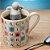 Infusor de Chá Boneco em Silicone Difusor Mister Tea 8 cm Divertido Moderno Cinza  - Imagem 2