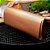 Kit 4 Mantas Grill em Teflon Antiaderente Para Assar Carnes Legumes na Churrasqueira Sem Gordura Reduz Fumaça - Imagem 3