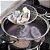 Escumadeira Teia Para Fritura Utensilio de Cozinha Pastel Aço Inox 11,5 x 34cm Escorredor Espumadeira - Imagem 4