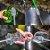 Jogo de Escovas Para Lavar Garrafas Copos Canudos Mamadeira Taças TPR Top Clean Não Risca - Imagem 2