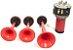 Buzina eletropneumático 3 cornetas alternadas Tipo Fiamm - Imagem 1