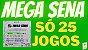 Planilha Mega Sena - Esquema com 41 Dezenas em 25 Jogos - Imagem 2