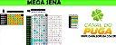 Planilha Mega Sena - Esquema com 41 Dezenas em 25 Jogos - Imagem 1