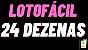 Planilha Lotofacil - Esquema com 24 Dezenas Sem Fixas - Imagem 2