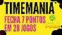 Planilha Timemania - 40 Dezenas Fechando 7 Pontos Em Grupos - Imagem 2
