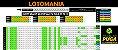Planilha Lotomania - 90 Dezenas Fechando 20 Pontos em Grupos - Imagem 1