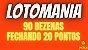Planilha Lotomania - 90 Dezenas Fechando 20 Pontos em Grupos - Imagem 2