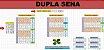 Planilha Dupla Sena - 24 Dezenas Em Cartões De 6,7,8 Números - Imagem 1