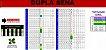 Planilha Dupla Sena - Esquema Com 24 Dezenas Em Camadas - Imagem 1
