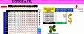 Planilha Lotofacil - Esquema Com 14 Fixas Em 3 Grupos - Imagem 1