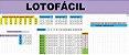 Planilha Lotofacil - 23 Dezenas Com 3 Fixas - Imagem 1