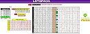 Planilha Lotofácil - Esquema Com 16 Números Marcados - Imagem 1