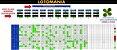 Planilha Lotomania - Esquema Com 99 Dezenas Em Linhas De 36 - Imagem 1