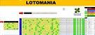 Planilha Lotomania - Esquema Com 80 Dezenas E Dupla Redução - Imagem 1