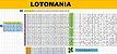 Planilha Lotomania - 50 Dezenas Combinadas Em Grupos De 25 - Imagem 1