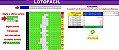 Planilha Lotofacil - Esquema Para Acertar as Dezenas Repetidas do Último Resultado - Imagem 1