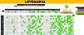 Planilha Lotomania - Fechamento 80 Dezenas Sem fixas com Garantia - Imagem 1