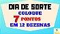 Planilha Dia de Sorte - Esquema 30 Dezenas com Redução para 12 - Imagem 2