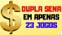 Planilha Dupla Sena - Fechamento Reduzido de 25 Dezenas - Imagem 2