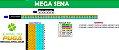 Planilha Mega Sena - Esquema com 60 Dezenas Para Acertar 2 em 3 - Imagem 1