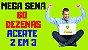 Planilha Mega Sena - Esquema com 60 Dezenas Para Acertar 2 em 3 - Imagem 3
