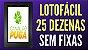 Planilha Lotofacil - Esquema com 25 Dezenas Sem Fixas - Imagem 2