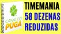 Planilha Timemania - 58 Dezenas com Fechamento Reduzido - Imagem 2