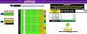 Planilha Lotofacil - Esquema 12 Dezenas Fixas com Garantia de 14 Pontos - Imagem 1