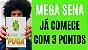 Planilha Mega Sena - Esquema No Mínimo 3 Pontos em Todo Sorteio - Imagem 2