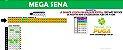 Planilha Mega Sena - Esquema No Mínimo 3 Pontos em Todo Sorteio - Imagem 1