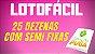 Planilha Lotofacil - Esquema com Semi Fixas e Garantia - Imagem 2