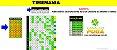 Planilha Timemania - Mini Fechamento 50 Dezenas em 38 Jogos com Garantia - Imagem 1