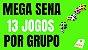 Planilha Mega Sena - Jogue com 4 Grupos de 21 Dezenas - Imagem 2